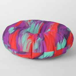 Dusk at the Steppe Floor Pillow