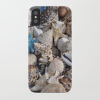 seashell iPhone & iPod Cases featuring Seashell by EteaGallerie