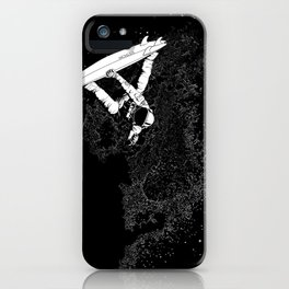 The Surfer Cosmic iPhone Case
