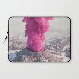 Pink Eruption Laptop Sleeve