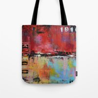 vogue Tote Bags featuring Vogue by ModernHomeDecor