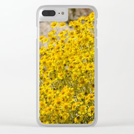 Super Bloom 7300 Paradise Joshua Tree - California Summer Road Trip Holiday Vacation Travel Clear iPhone Case