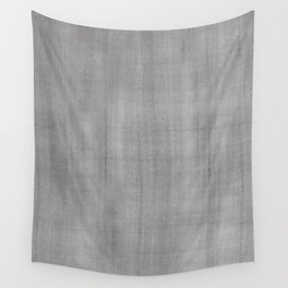 Pantone Pewter Dry Brush Strokes Texture Pattern Wall Tapestry