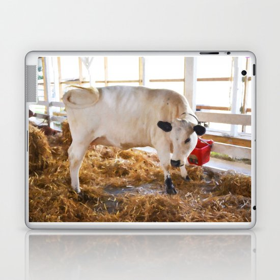 Cute Cow Laptop & iPad Skin