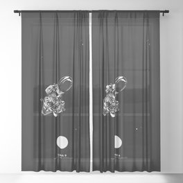 LUNA 9 Sheer Curtain