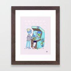 Insert 25 Cents Framed Art Print