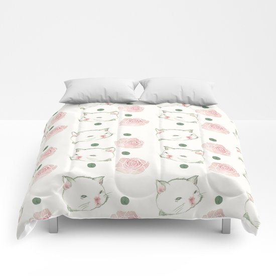 Cat's Waltz 고양이 왈츠 Comforters