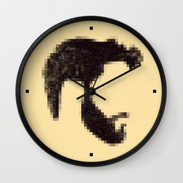 MOSAIC BEARD Wall Clock