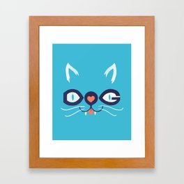 Cats 'n Dogs! Framed Art Print