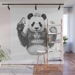 Punk Panda Wall Mural