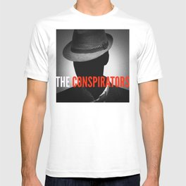 The Conspirators Podcast Show Art T-shirt