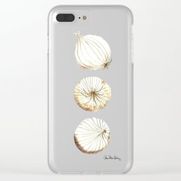 Onions Clear iPhone Case