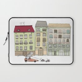 Budapest and the wandering cat Laptop Sleeve