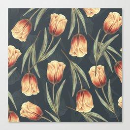 Tulipa pattern 1 Canvas Print