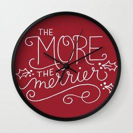 Merrier Wall Clock