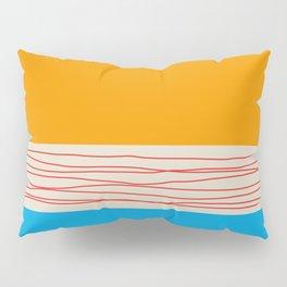 Minimal Retro Pattern Pillow Sham