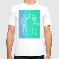 Gimme 5 White Mens Fitted Tee MEDIUM