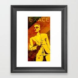 Grace Jones Framed Art Print