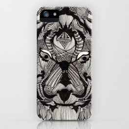 Tiger by Mieke Kristine iPhone Case