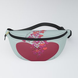 Love Overflow Fanny Pack