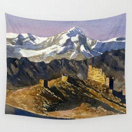 Ancient Echoes Wall Tapestry