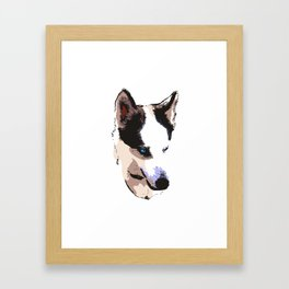 Husky Dog Framed Art Print
