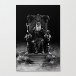 IV. The Emperor (Version III) Canvas Print