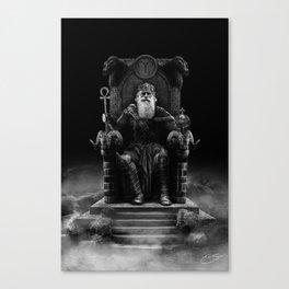 IV. The Emperor (Version III) Canvas Print