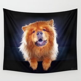 Super Pets Series 1 - Super Chow Wall Tapestry