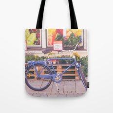 Market Bicycle Tote Bag