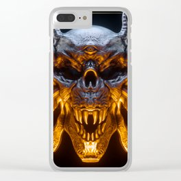 Hellfire Clear iPhone Case