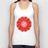 flower pattern Tank Tops featuring Flower Pattern by smoothimages