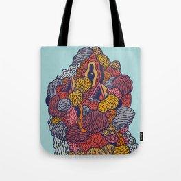 Head 54 Tote Bag