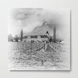 Salenegg Castle Metal Print