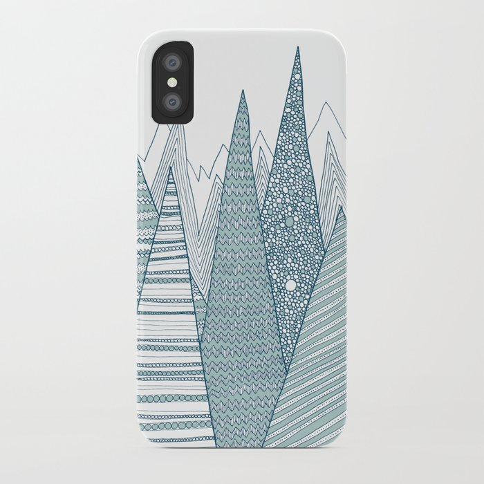 Mountains iPhone Case