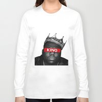 biggie smalls Long Sleeve T-shirts featuring Biggie Smalls by Creative Threads
