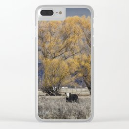 Guarding the Trees Clear iPhone Case