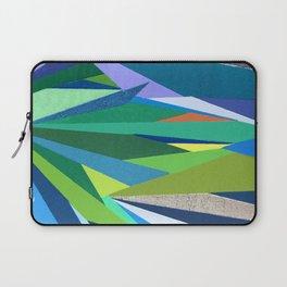 Abstract Geometric Garden Laptop Sleeve
