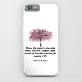 Rabindranath Tagore iPhone Case