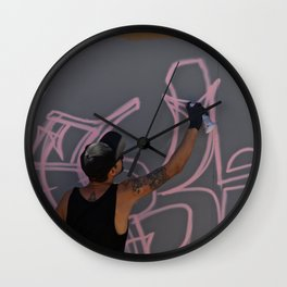 Making art Wall Clock