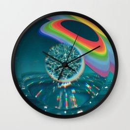 The Technicolor Unknown Wall Clock