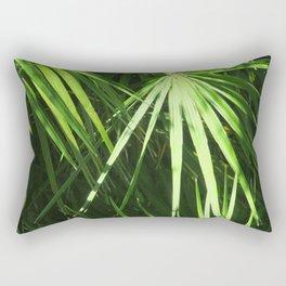 Lost in Green Rectangular Pillow