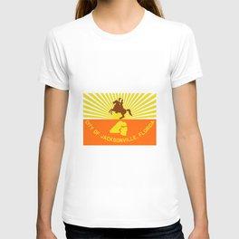 flag of Jacksonville T-shirt