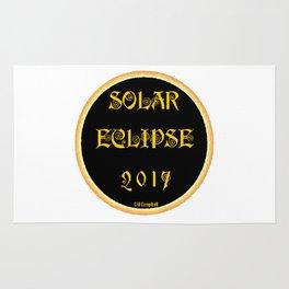 Solar Eclipse Flare Rug