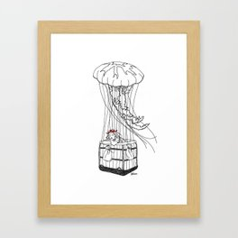 Jelly Balloon Framed Art Print