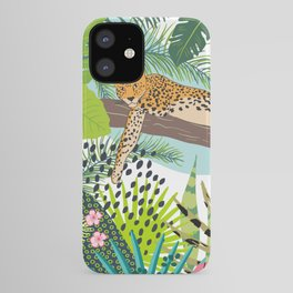 Leopard Art, Colorful, African Animals Art iPhone Case
