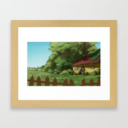 shamrock's Kingdom Framed Art Print