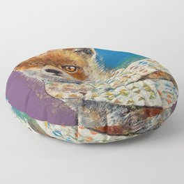 Foxy Vibes Floor Pillow