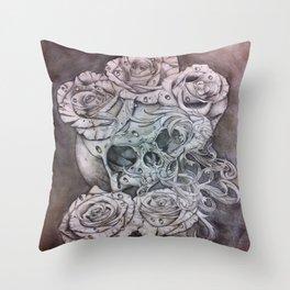 Modern Decay Throw Pillow