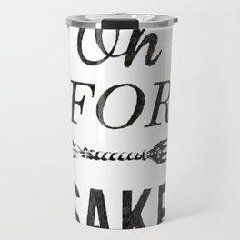 Oh For Fork Sake! Travel Mug